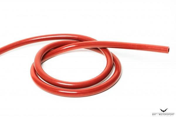 3mm Silikon Unterdruckschlauch Rot